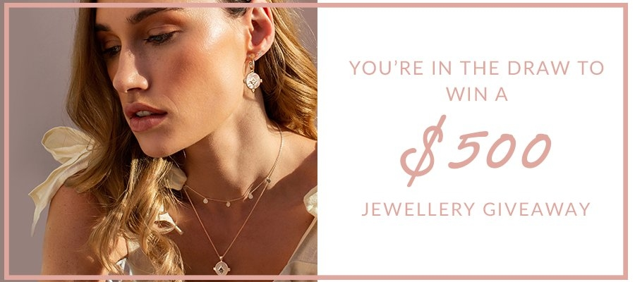 Win an 18KT Yellow Gold Plated Jewellery Collection (Earrings, Necklace & Ring)