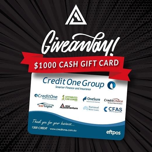 Win a $1000 Cash Card