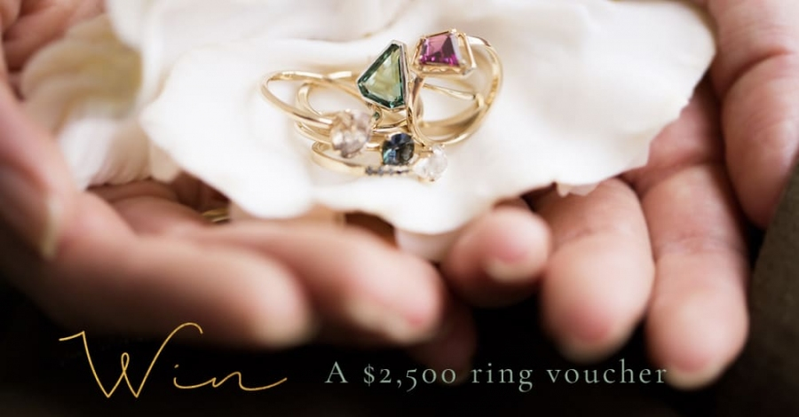 Win a $2500 Violet Gray Jewellery Voucher (to use for a made-to-order or custom ring)
