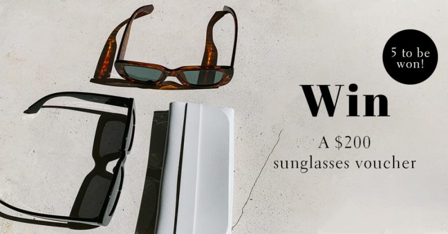 Win 1 of 5 x $200 Floucia (Sunglasses) Vouchers