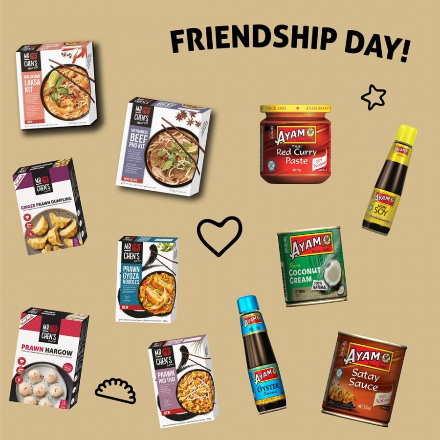 Win $125 of AYAM Food Products + a $125 Woolworths Voucher for both you & a friend