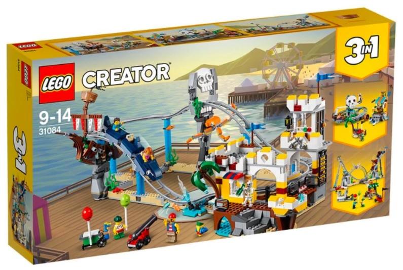 Win a LEGO® Creator Pirate Roller Coaster Building Set