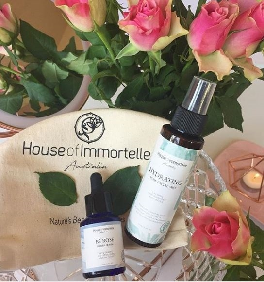 Win 1 of 7 House of Immortelle Beauty Packs each with Hydrating Rose Facial Mist & B5 Rose Hydra Serum