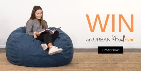 Win a KloudSac (Foam Filled Beanbag) & Cover of your choice