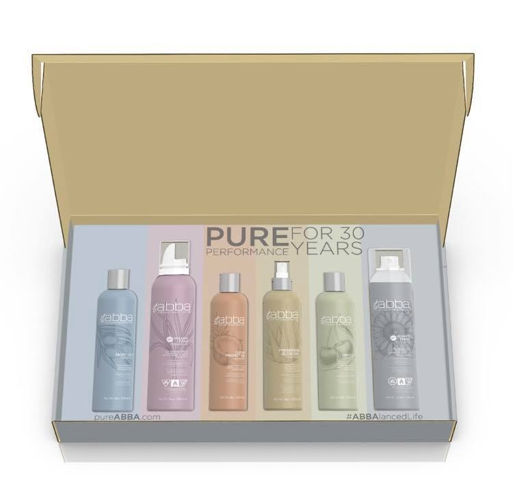 Win 1 of 5 ABBA Professional Haircare Products Packs