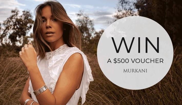 Win a $500 Murkani Jewellery Voucher