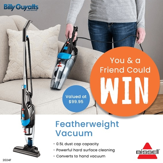 Win a Bissell Featherweight Vacuum for you & one for a friend