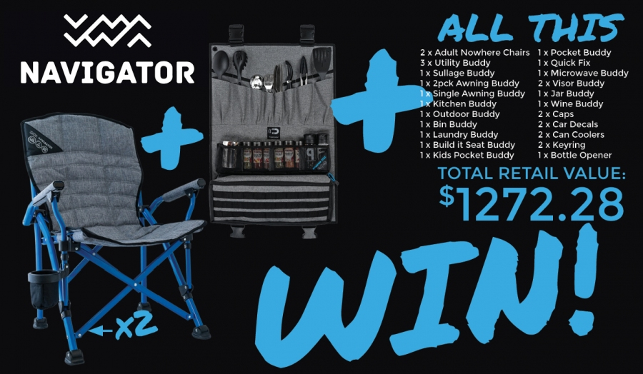 Win a Huge Navigator Camping Accessories Package