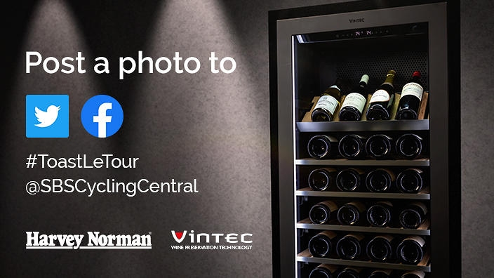 Win a Vintec Wine Cabinet + 24 Bottles of French Wine