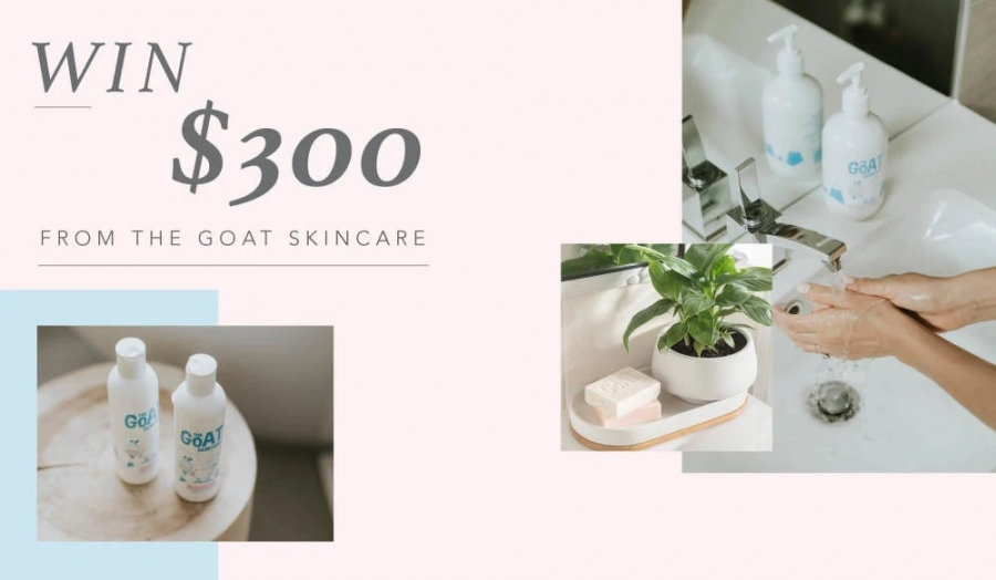 Win $300 of Goat's Milk Skincare Products