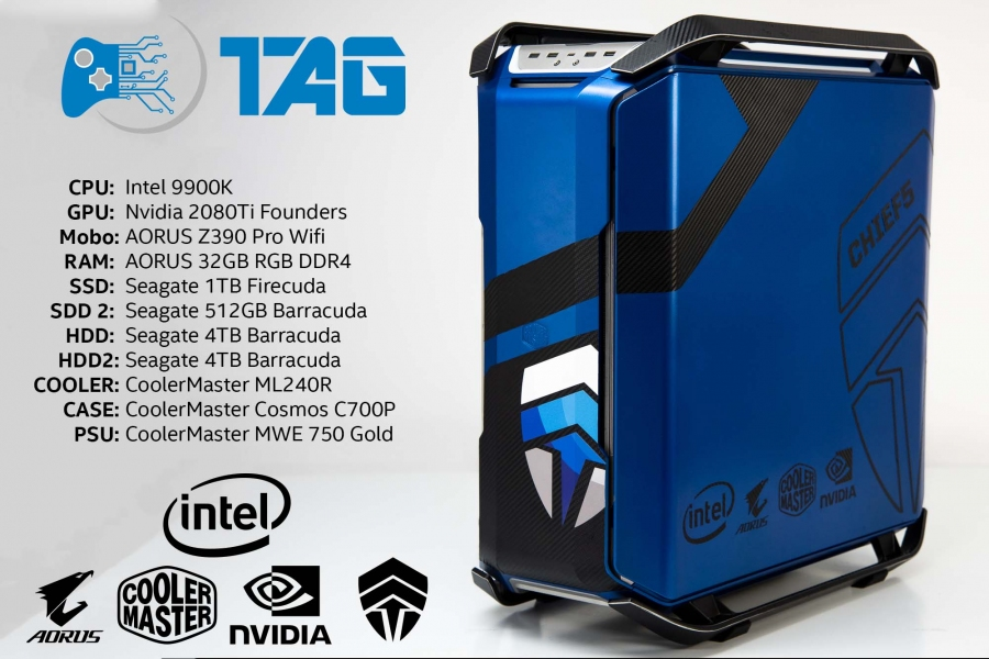 Win an Intel 9900 Gaming PC