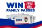 Win 1 of 574 Big Bash League Cricket Family Passes (choice of venues)