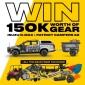 Win a 2019 Isuzu D-MAX 4x4 LS-T + an X2 Patriot Camper Trailer, Polaris Offroad Buggy & Camping Accessories