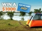 Win a $1000 BCF (Boating, Camping, Fishing) Voucher