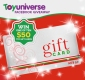 Win 1 of 10 x $50 Toy Universe Gift Cards