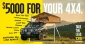 Win $5000 worth of TJM 4x4 and/or Camping Accessories