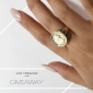 Win a 9ct Gold Coin Ring