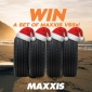 Win a Set of 4 Maxxis VS5 Tyres (includes fitting)