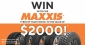 Win a set of 5 Maxxis Tyres