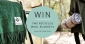 Win 2 Recycled Wool Blankets