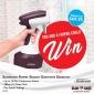 Win a Sunbeam Power Steam Garment Steamer for you & one for a friend