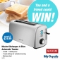 Win a Maxim Kitchenpro 4-Slice Automatic Toaster for you & one for a friend