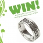 Win an Irish Celtic Cross Sterling Silver Ring