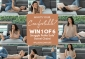 Win 1 of 6 Plush Snuggle Petite Sofa® Swivel Chairs