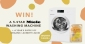 Win a 9kg Miele Front Load Washing Machine + Happi Earth Laundry Liquid Starter Pack