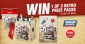 Win 1 of 3 NGK Spark Plugs Retro Merchandise Packs (each with Retro Esky & Tin Plate)