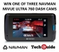 Win 1 of 3 Navman MiVUE Ultra 760 Dash Cams