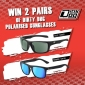 Win 1 of 10 Dirty Dog Eyewear Packs (each with Axle & Ranger Polarised Sunglasses)