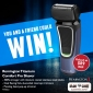 Win a Remington Titanium Comfort Pro Shaver for you & one for a friend