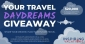 Win 1 of 10 Inspiring Vacations Travel Vouchers ($10K OR $5K OR $2K OR 1 of 7 x $1000)