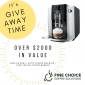 Win a Jura E6 Automatic Coffee Machine + 12 month supply of Coffee Beans