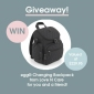 Win a Baby Changing Backpack for you & one for a friend