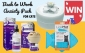 Win a Cat Anti-Anxiety Pack with Diffuser Kit & Spray + a Lickimat & Drinking Fountain