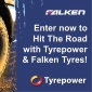 Win a set of Falken Tyres (inc. fitting) OR 1 of 3 Tyrepower Caps signed by Craig Lowndes
