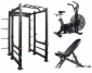 Win $5000 of Fitness Equipment inc. Power Cage, Air Bike, Weights Bench, Barbell & Bumper Plates