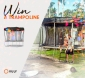Win a Medium Vuly Trampoline with Shade Cover