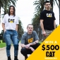 Win $500 of CAT Branded Apparel