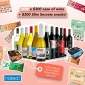 Win a $300+ Case of Naked Wine + $300 of Slim Secrets Snacks