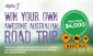 Win an Australian Road Trip (no travel to prize pickup location)