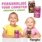 Win 1 of 3 pairs of personalised Fangks canisters
