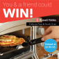 Win 2 Pizza & Snack Ovens