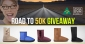 Win 2 pairs of UGG boots