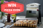 Win an Excelsior Portable Gas Pizza Oven