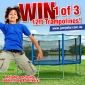 Win 1 of 3 Jump Star 12' Trampolines