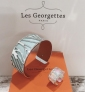 Win a Les Georgettes reversible Cuff and Matching ring