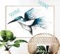 Win 1 of 5 'Kingfisher Flourish' prints as seen on The Block (weekly draws)